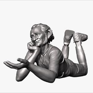 bfg giant sculpture 3D