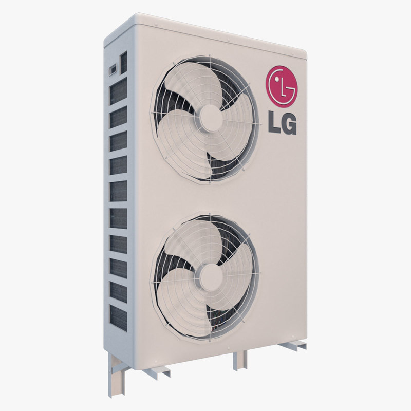 air conditioner outdoor 3D model