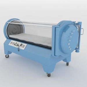 hyperbaric chamber 3D model
