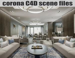 corona scene files - model