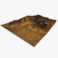 3D model terrain