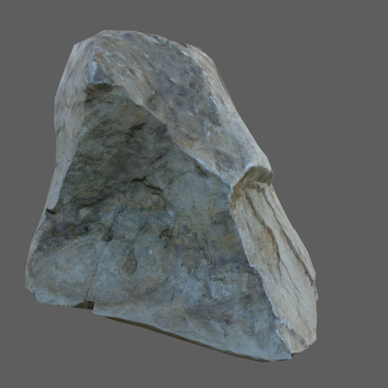 stone scan polys 3D