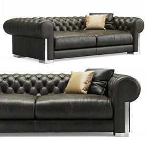 alberta cheope square sofa 3D