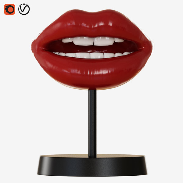 3D figurine lips