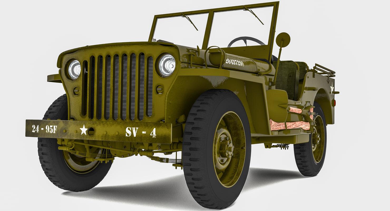 jeep model