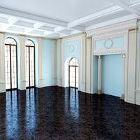 Classic Blue Room