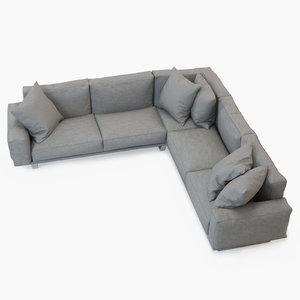 sofa 004 3D
