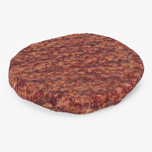 burger patty model