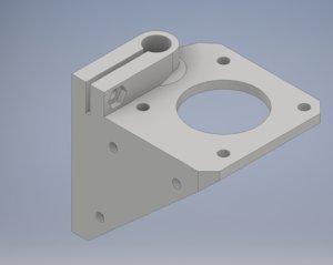 3D nema17 holder model