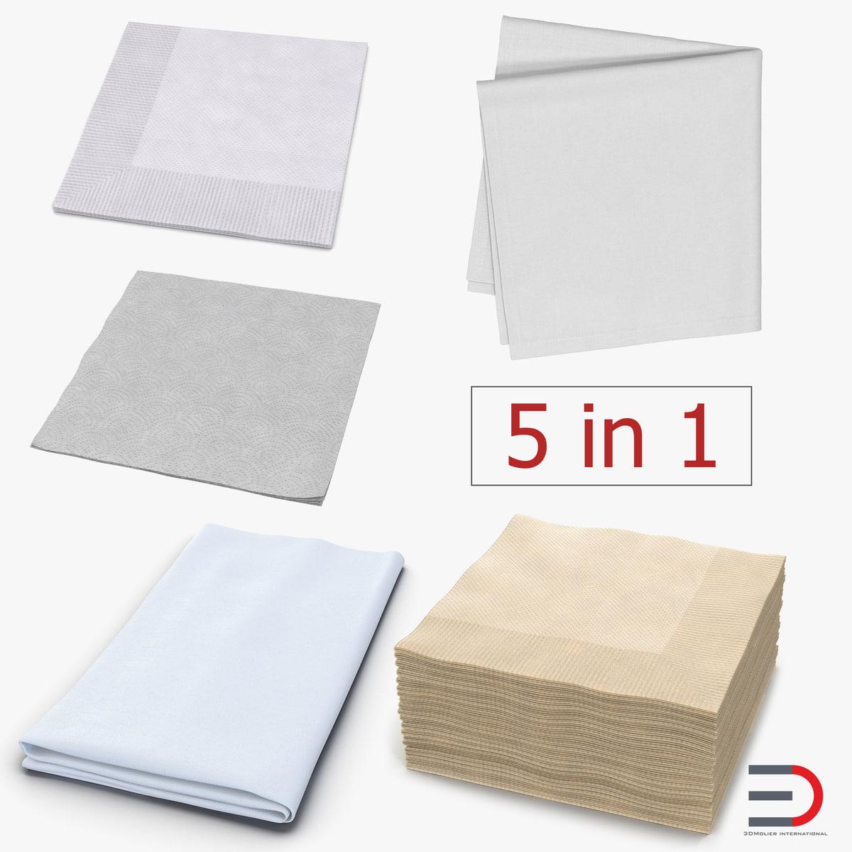 3D napkins 2