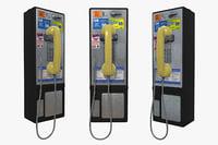 3D payphone