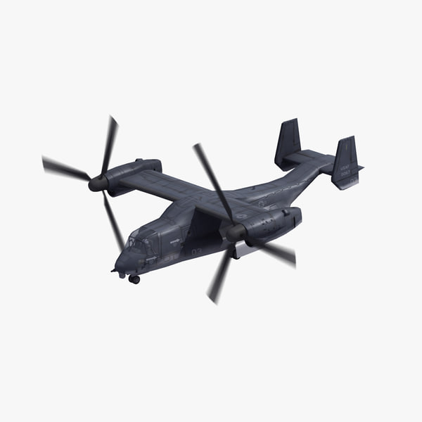 air force cv-22b osprey 3D model