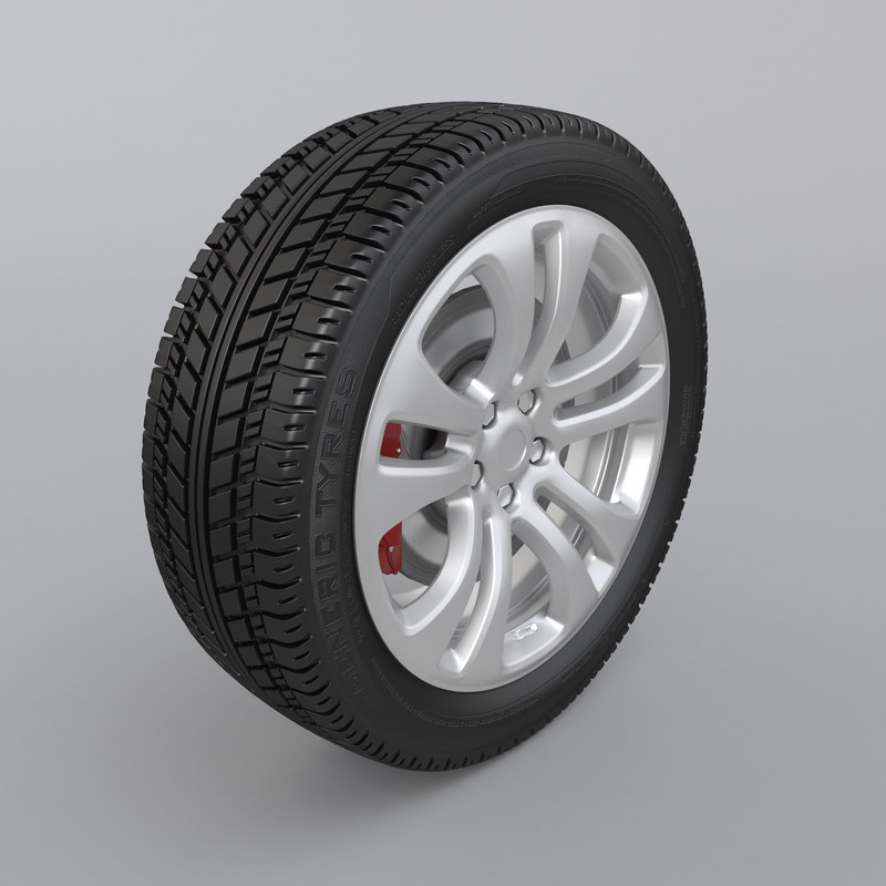 3D car wheel alloy disc