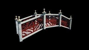 bridge basic pbr materials 3D model