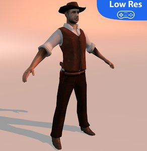 3D human male man