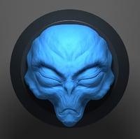 3D alien sculpt