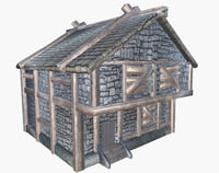 Boarded up Medieval House no addon