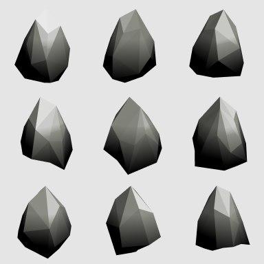 3D 4000 rocks
