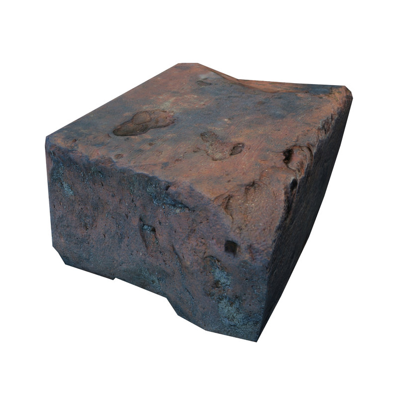 3D brick scan photorealistic