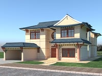house chines 3D model