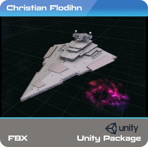 3D vsd victory star destroy