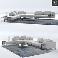 B&B Italia sofa /michel effe/