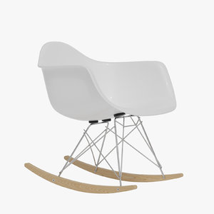 eames molded plastic armchair model