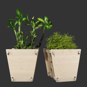aker vee planter 3D model