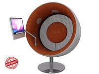 3D sonic chair