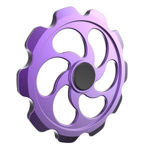 hand spinner spin 3D