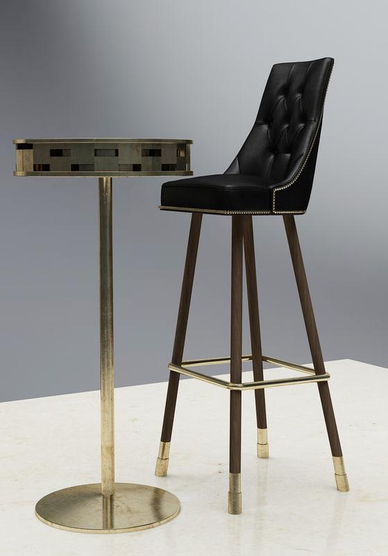 richardson seating bar model