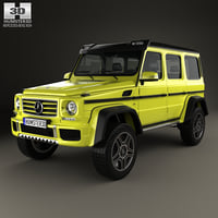 mercedes-benz g-class g 3D model