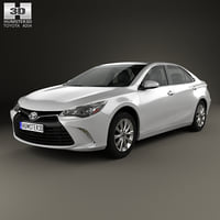 3D model toyota camry xle