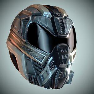 3D helmet hd