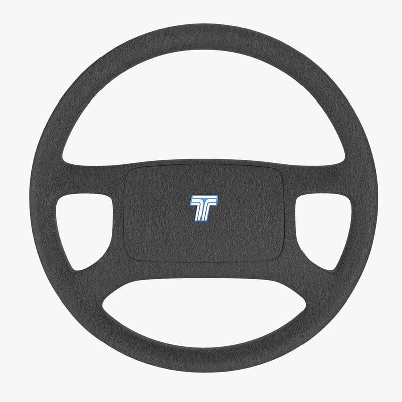 tofas steering wheel 3D model