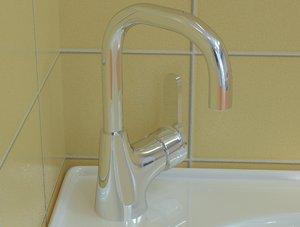 3D model basin mixer vidima
