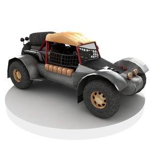 ready buggy 3D model