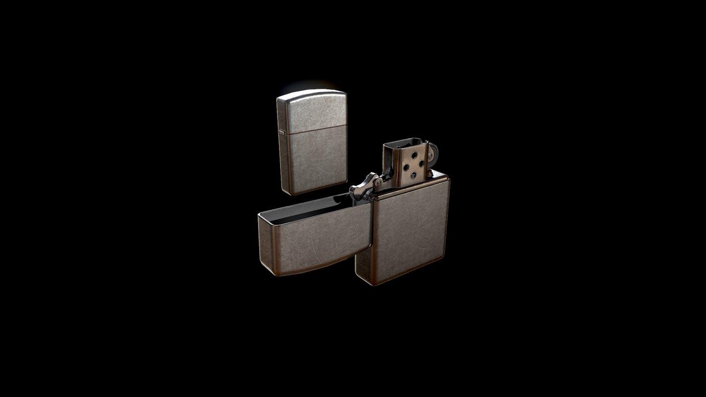 Zippo lighter model - TurboSquid 1165516
