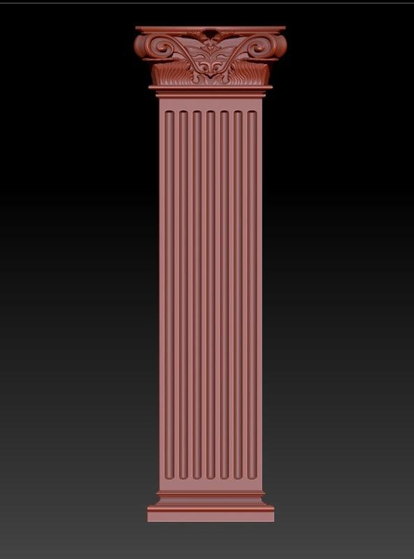 3D model colum
