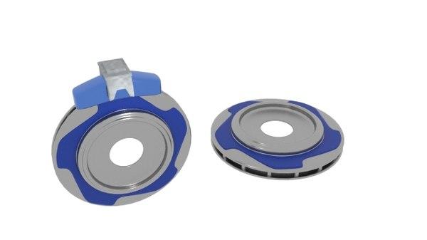 3D star rotor brake