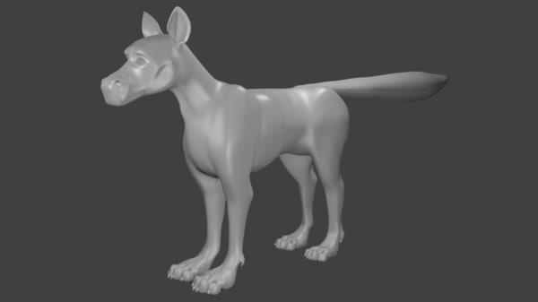 creature anatomy 3D