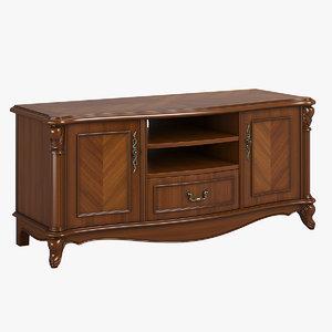 2612000 230-1 carpenter tv cabinet 3D model