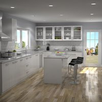 3D kitchen interior 1 model