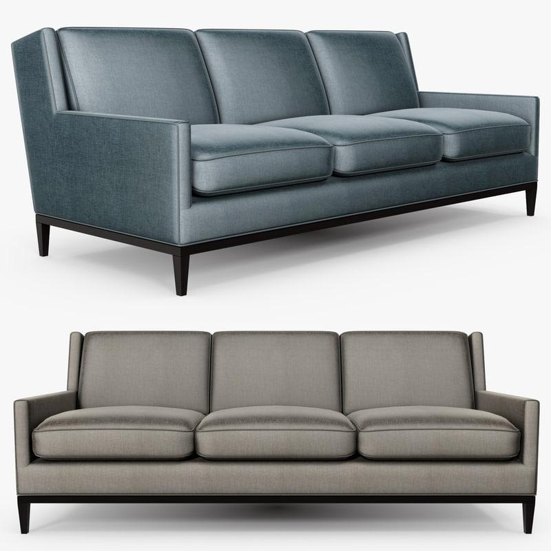 3D Model Rudin   Seat Sofa