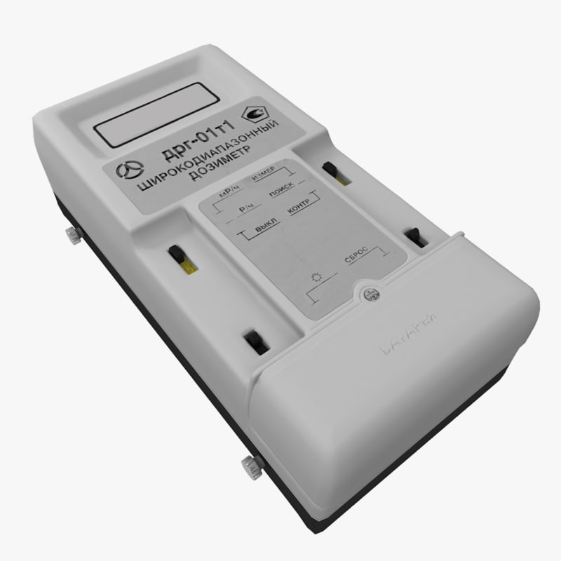 3D model wide-range dosimeter drg-01t1