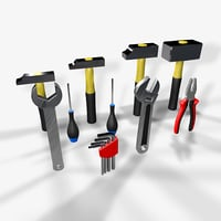tool pack 3D model