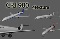 3D crj 900