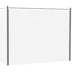 3D chain link fence