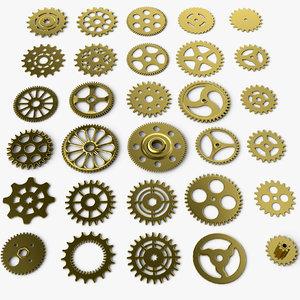 3D 30 gear model