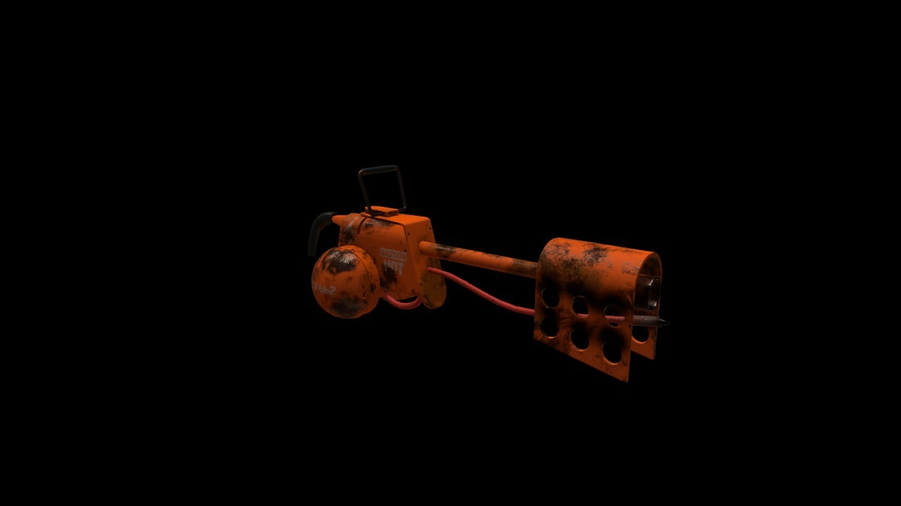 flame thrower 3D